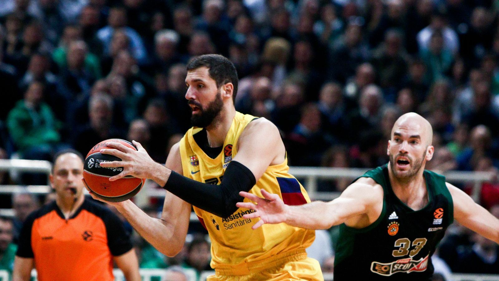 Nikola Mirotic i Nick Calathes