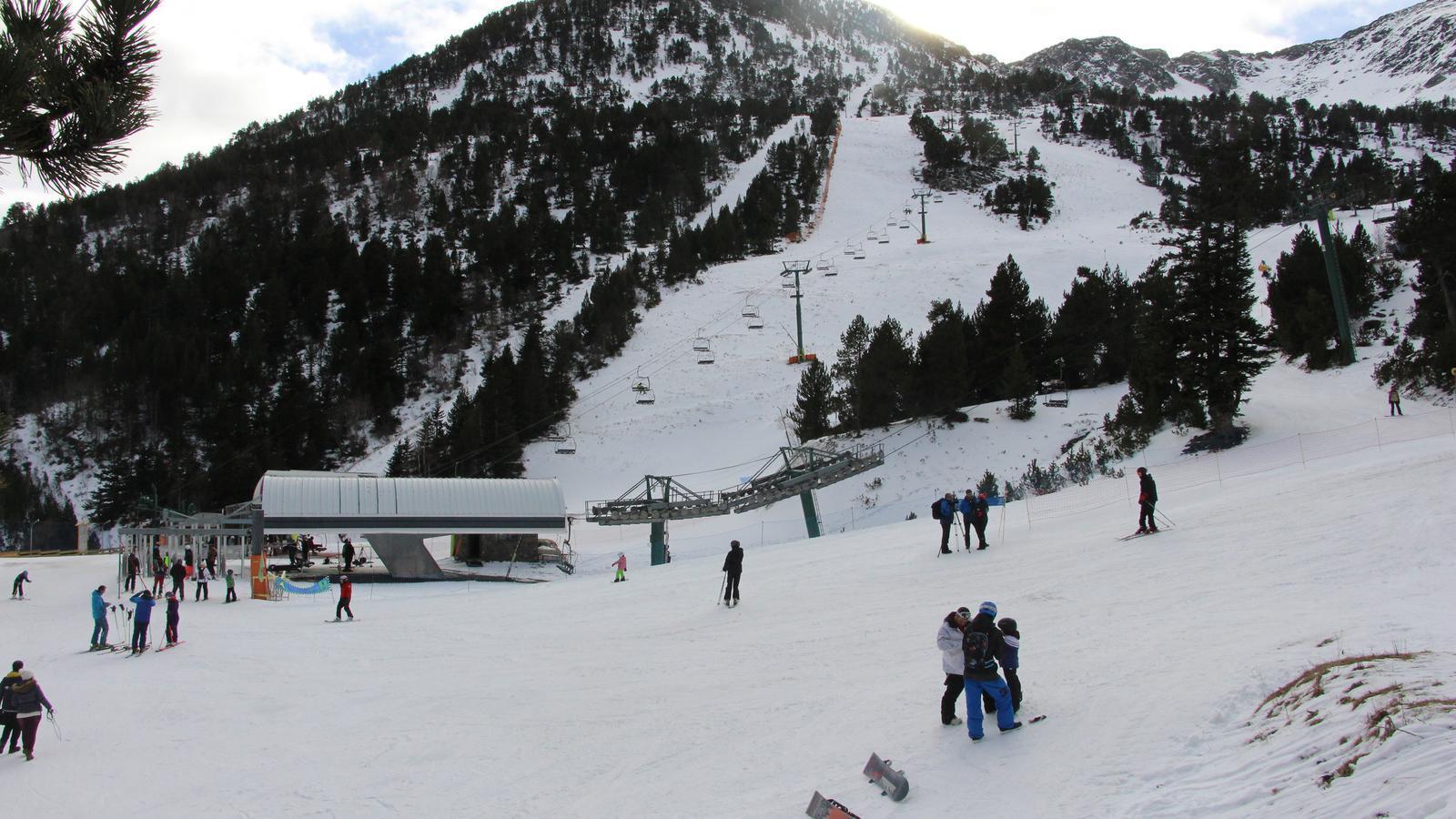 Imatge de l'estació d'Ordino Arcalís. / M. F. (ANA)