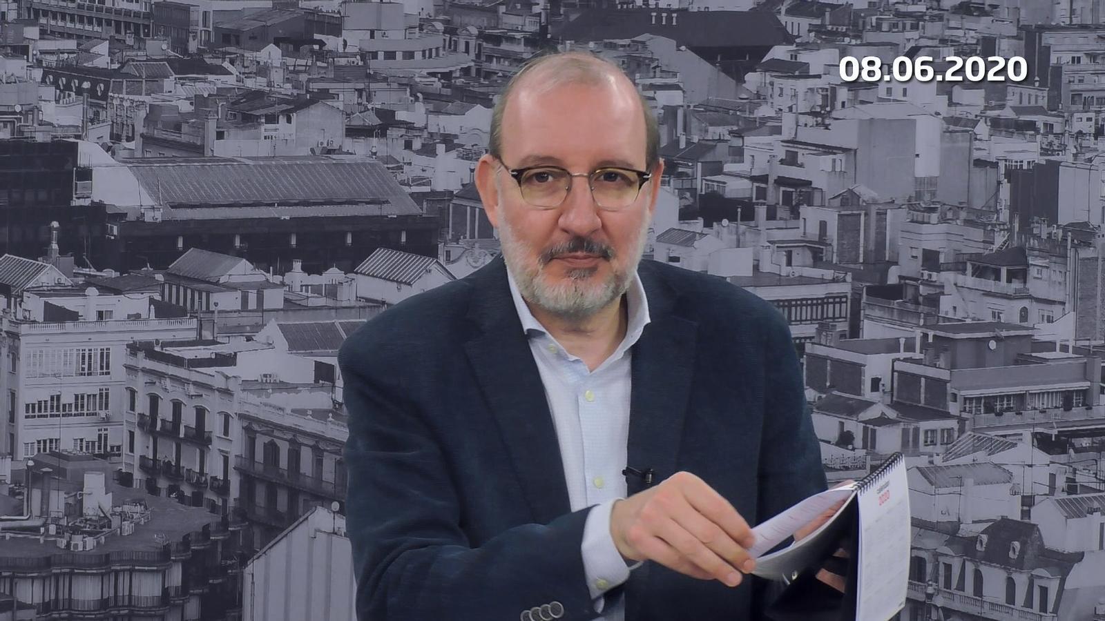 L'anàlisi d'Antoni Bassas: 'Presidenta Forcadell, la justícia no canvia de fase'