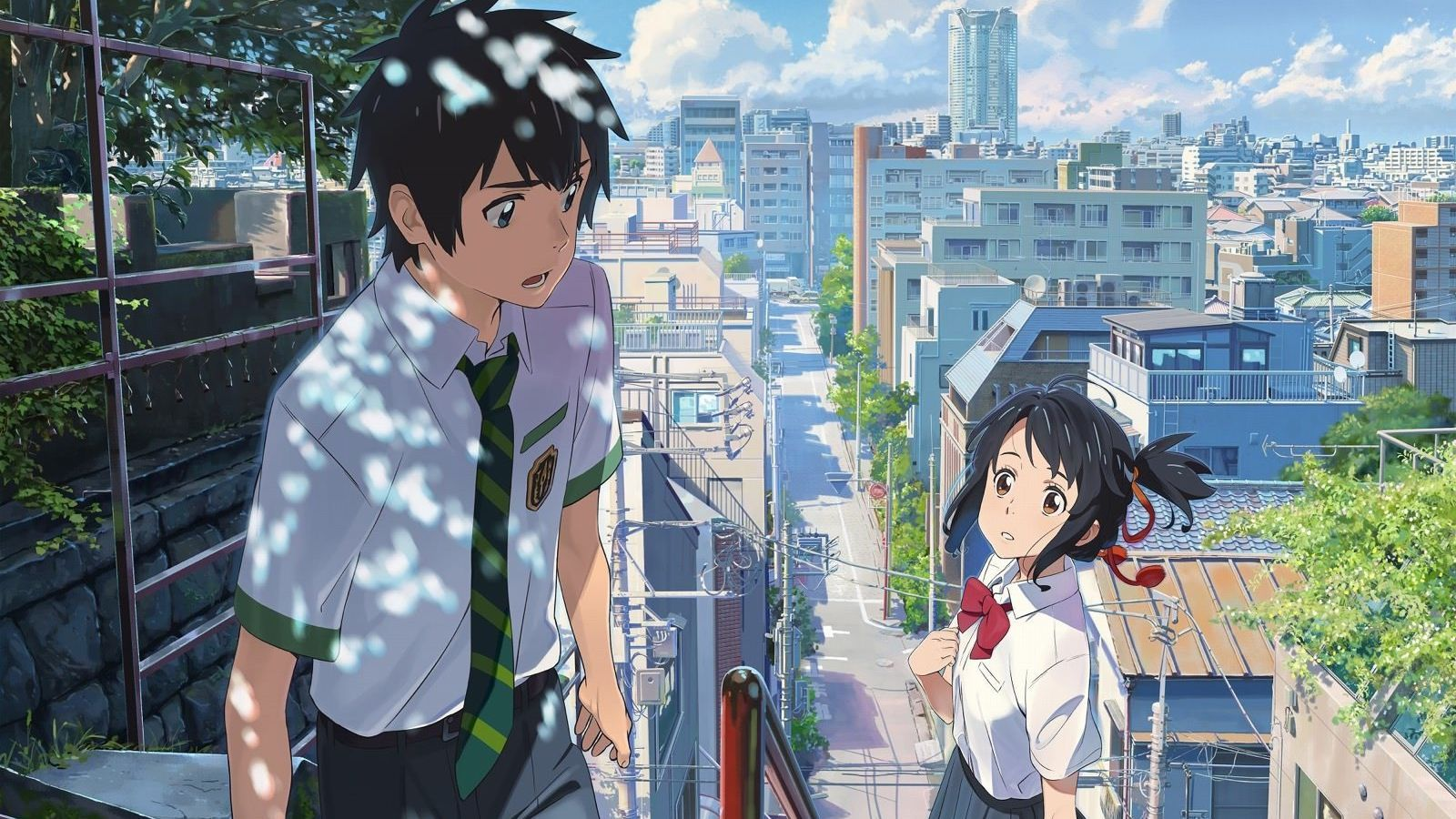 Un fotograma de 'Your name'