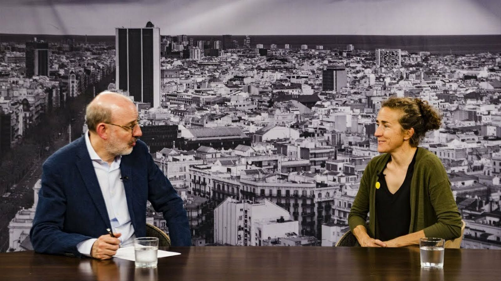 Entrevista d'Antoni Bassas a Núria Picas