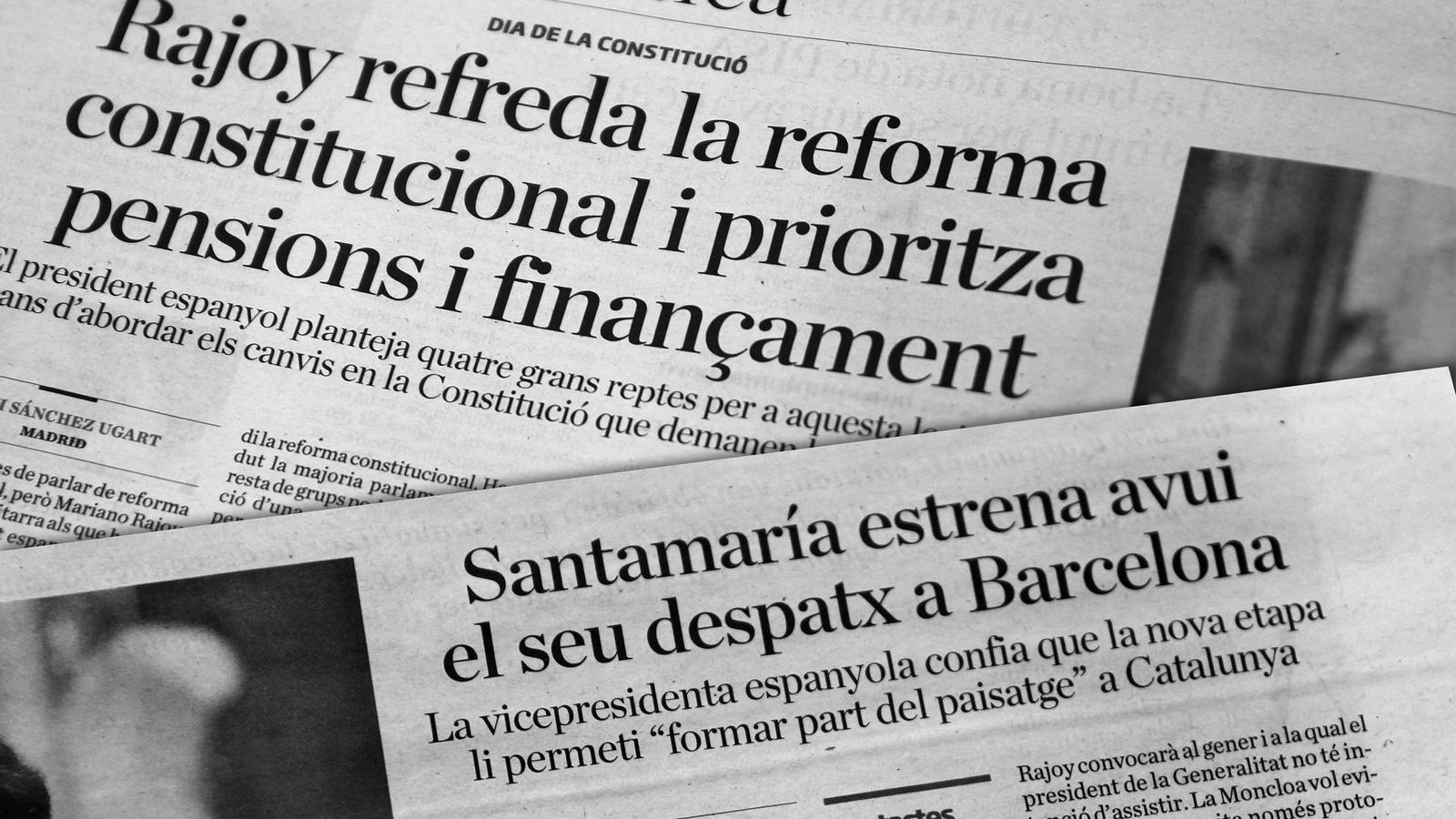 L'anàlisi d'Antoni Bassas: 'Rajoy refreda, i Soraya també'