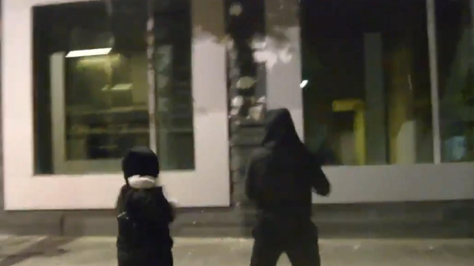 Un fragment del vídeo d'Arran.