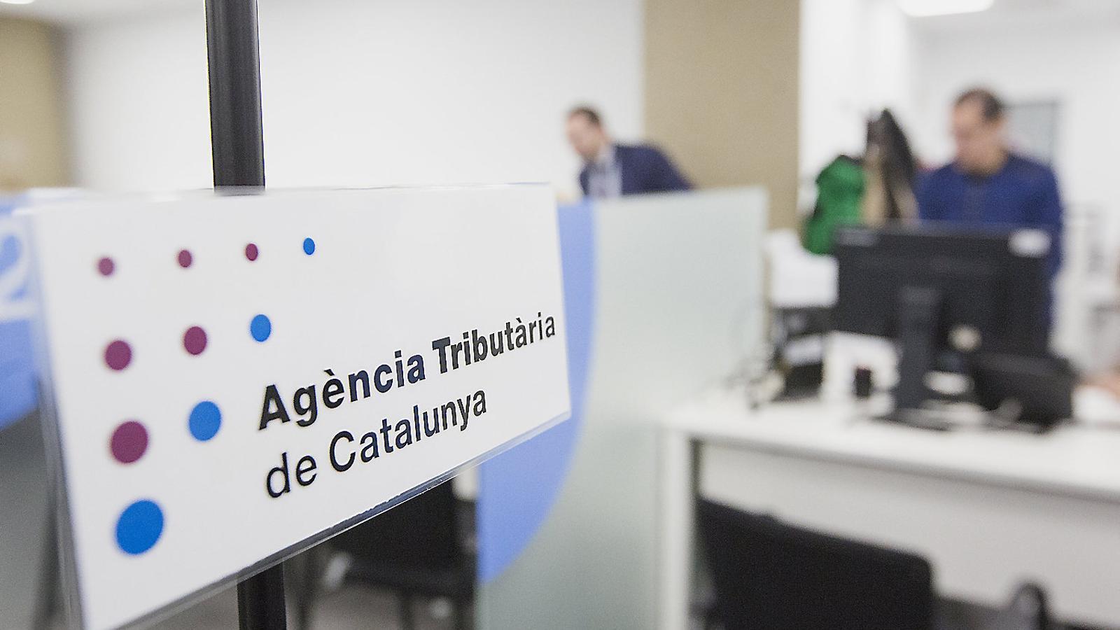 Instal·lacions de l'Agència Tributària al carrer Joan d'Àustria de Barcelona, obertes el 2017.