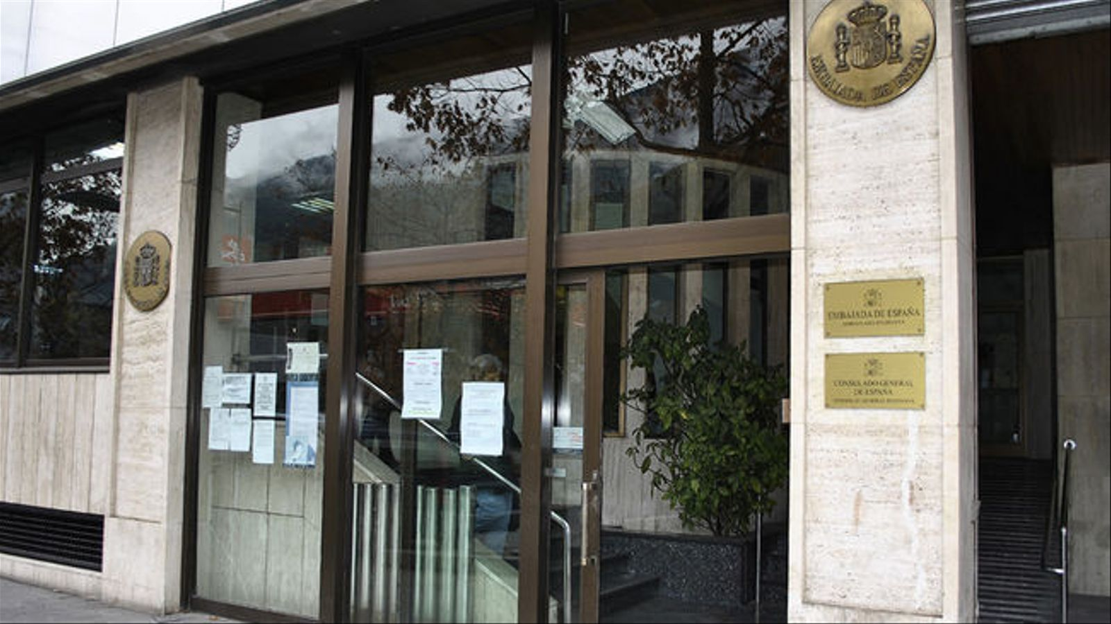 L'ambaixada espanyola. / ARXIU ANA