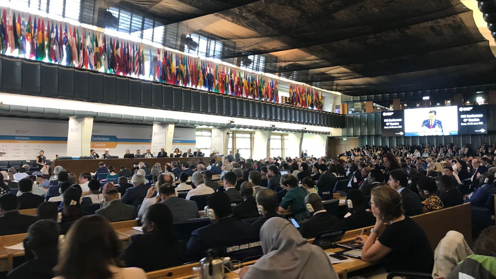 La 41a edició de la FAO celebrada a Roma. / GOVERN D'ANDORRA