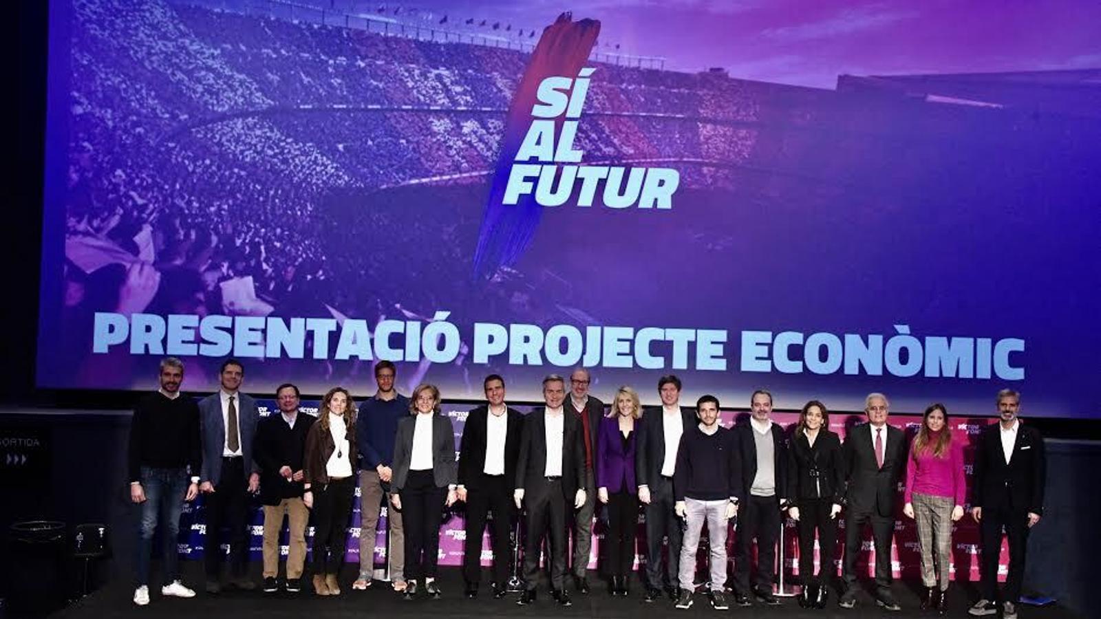 Victor Font ha presentat el seu projecte econòmic