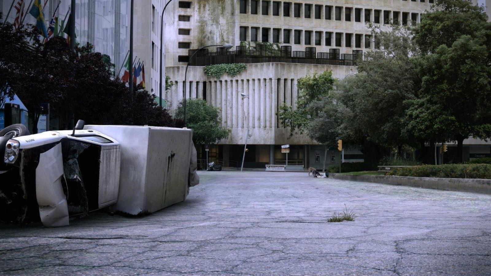 Imatge d'un rodatge a Palma.