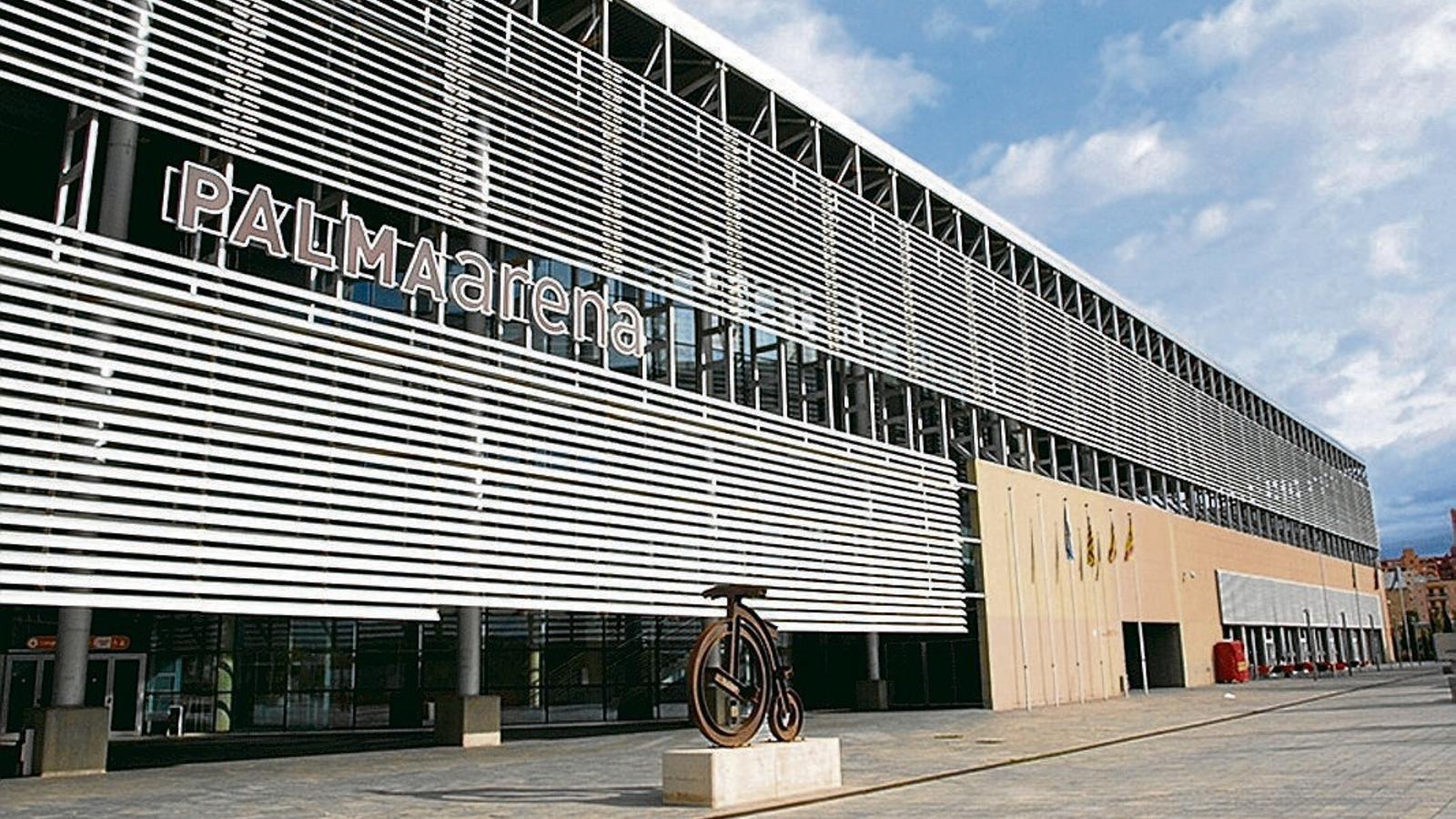 El recinte del Palma Arena, escenari habitual de competicions esportives i darrerament de drames polítics.