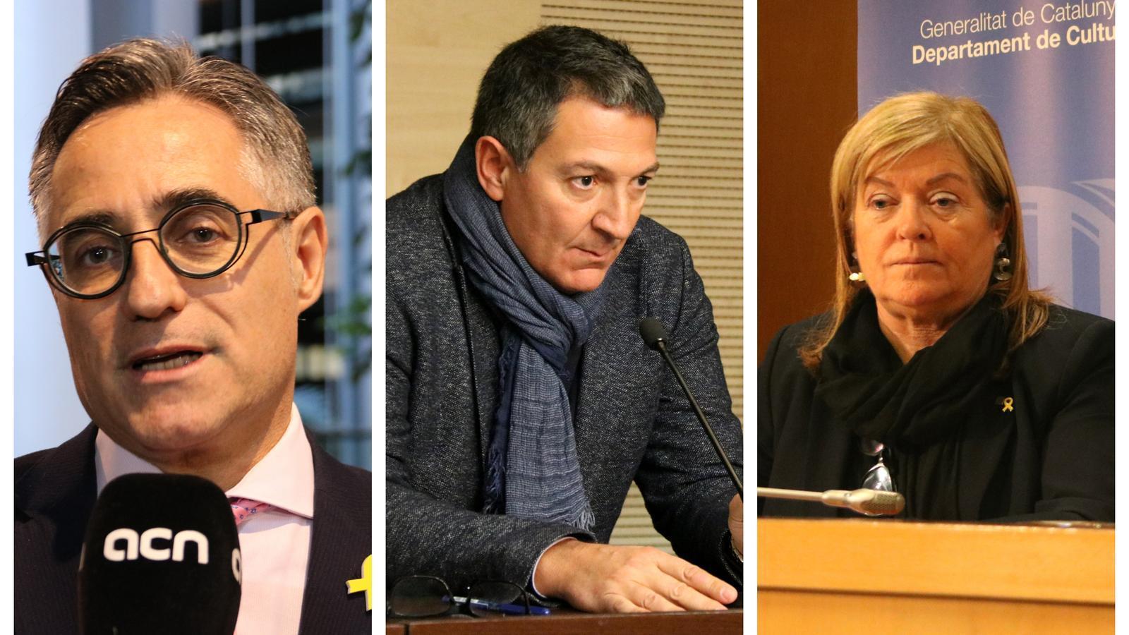 Qui són les tres cares noves del govern Torra?