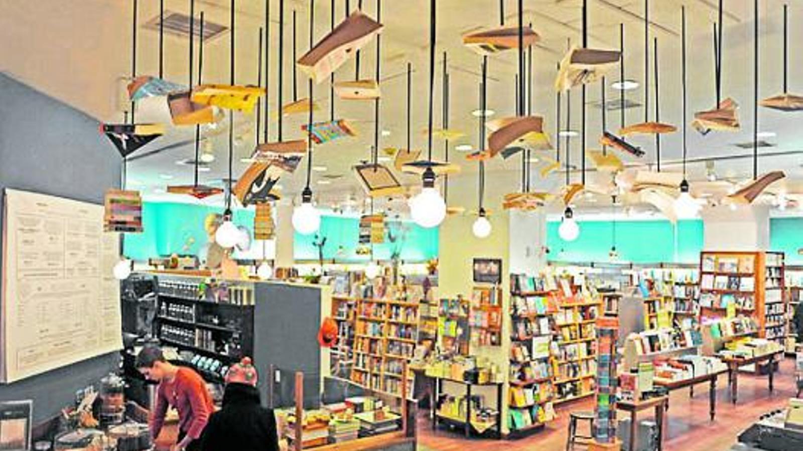 La llibreria McNally Jackson és un dels espais on es poden trobar més lletraferits novaiorquesos. / YVONNE BROOKS