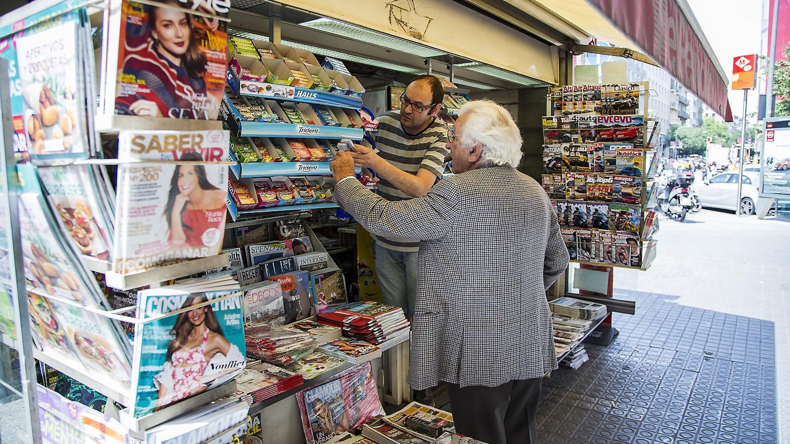 En el cas de Barcelona i província, els últims 10 anys han abaixat la persiana gairebé un 50% dels establiments.