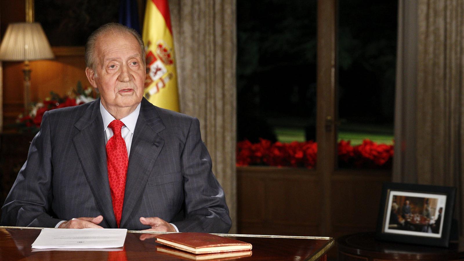 La figura de Joan Carles I ja només és tabú al Congrés