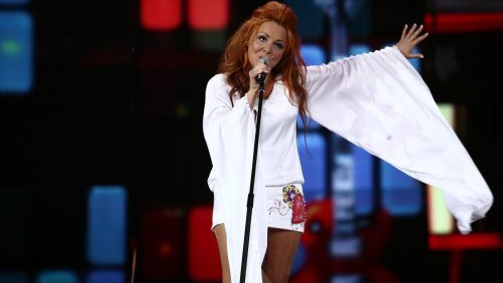 L'actuació de Susanne Georgi a Eurovisió. / EUROVISIÓ