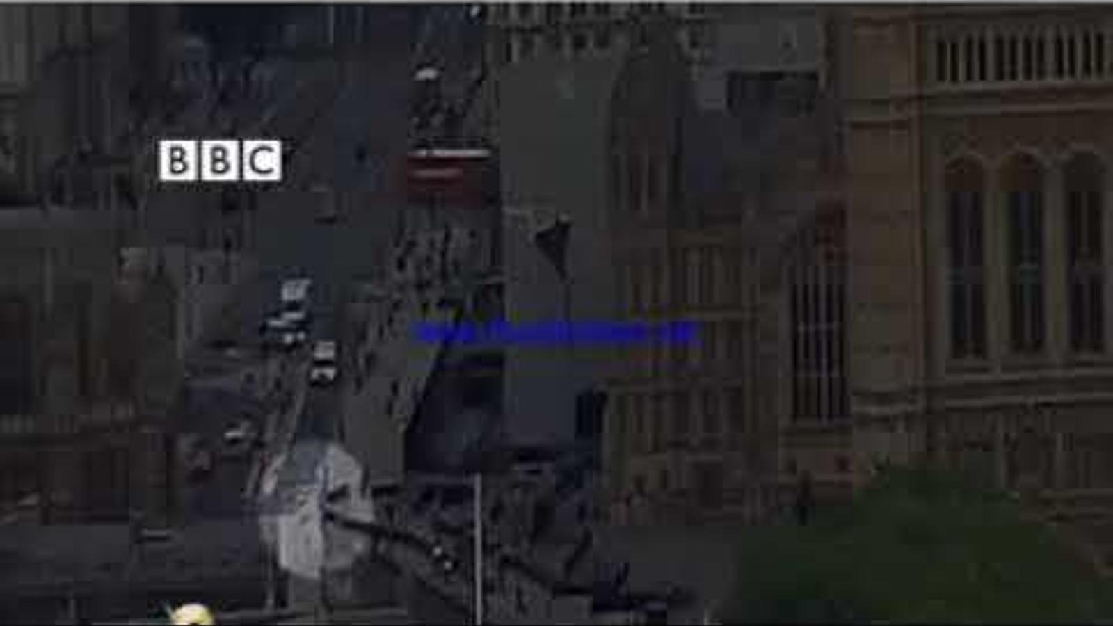 Vídeo publicat per la cadena anglesa BBC sobre el moment de l'atropellament