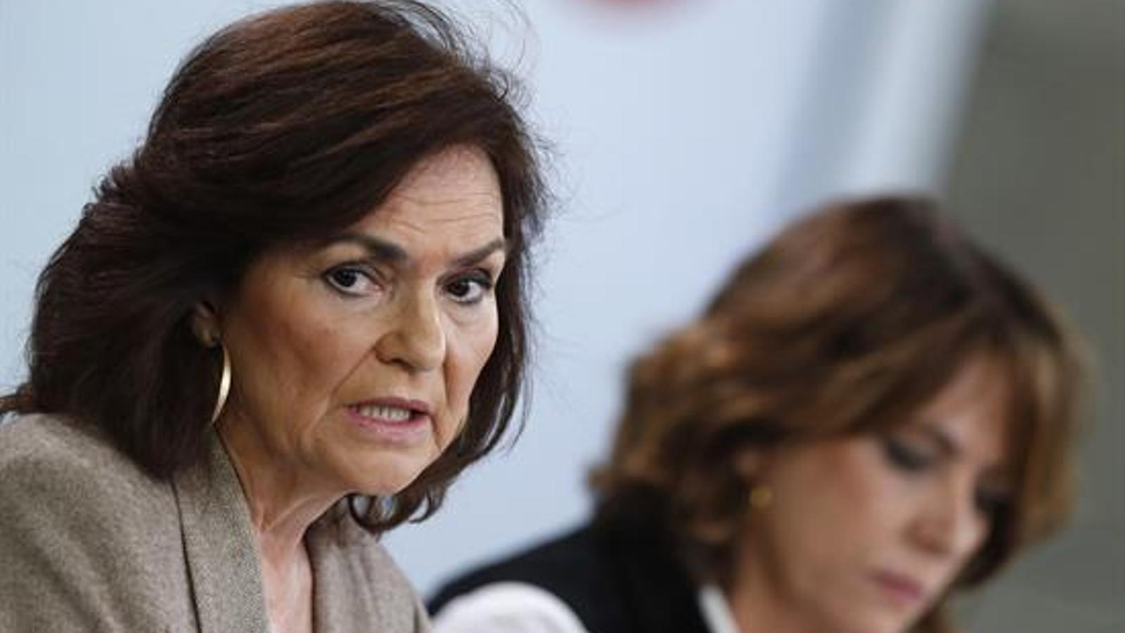 """Calvo defensa el diàleg i el """"relator"""" tot i la tempesta política generada a Madrid"""