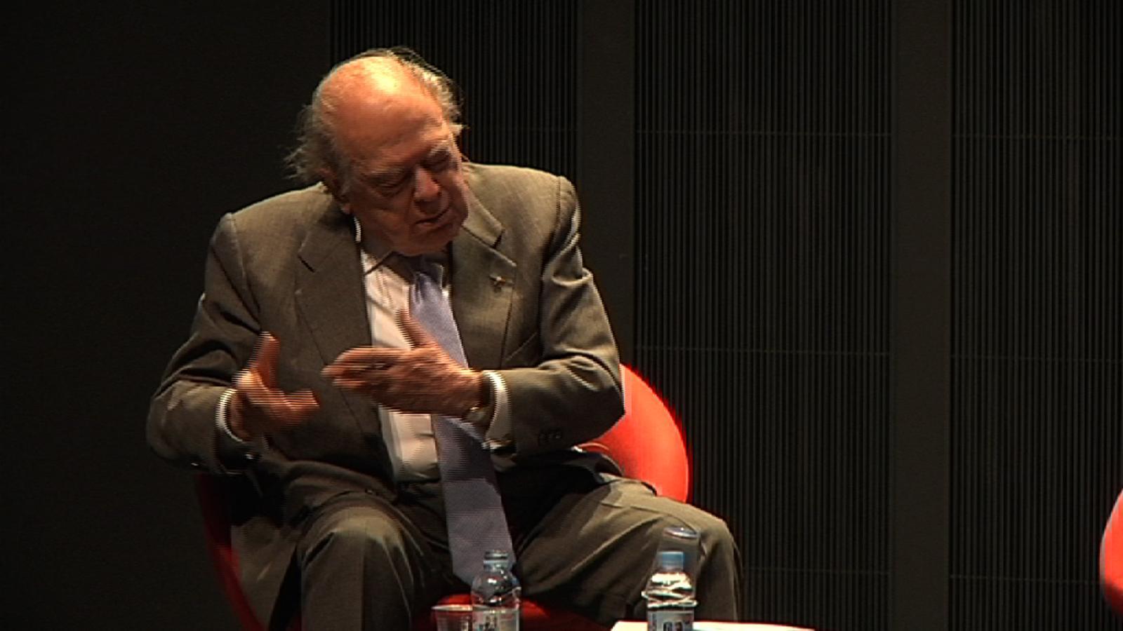 Jordi Pujol: Hem d'actuar amb mentalitat independent, fer com si fóssim independents
