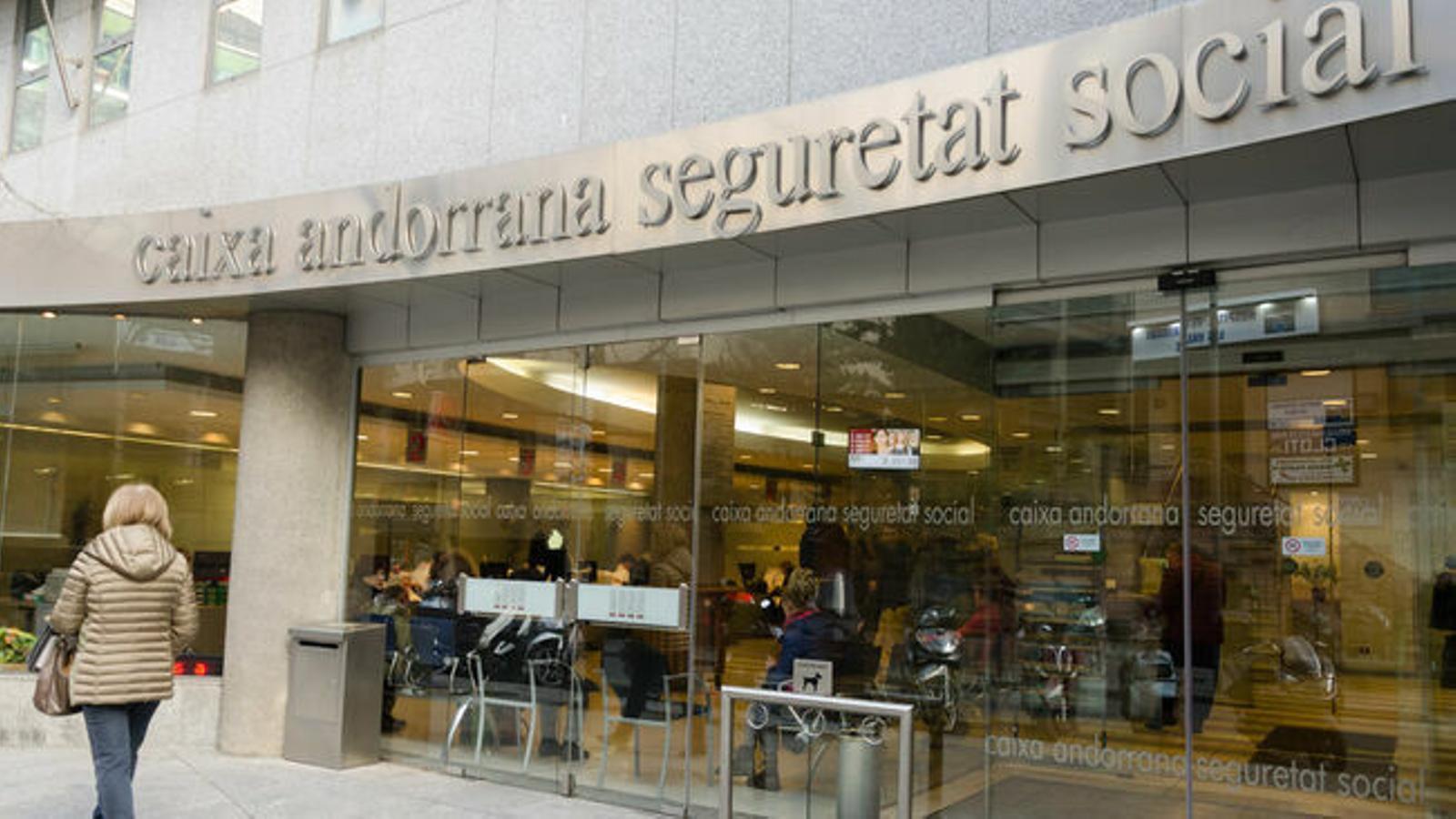 Seu de la CASS a Andorra la Vella / D.R. / ARXIU ANA