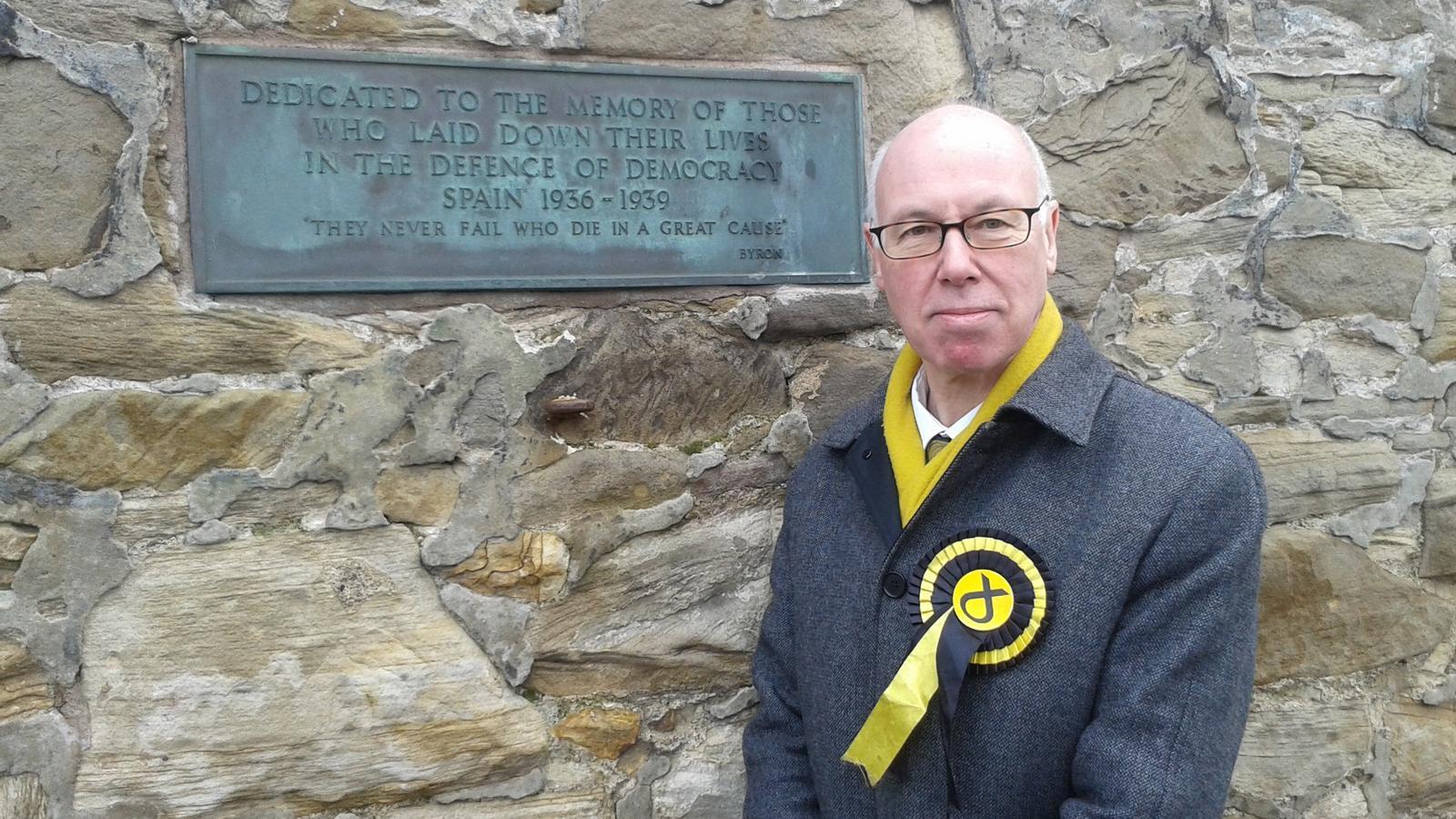 George Kerevan, el diputat per East Lothian que ha presentat la moció en suport de Forcadell./