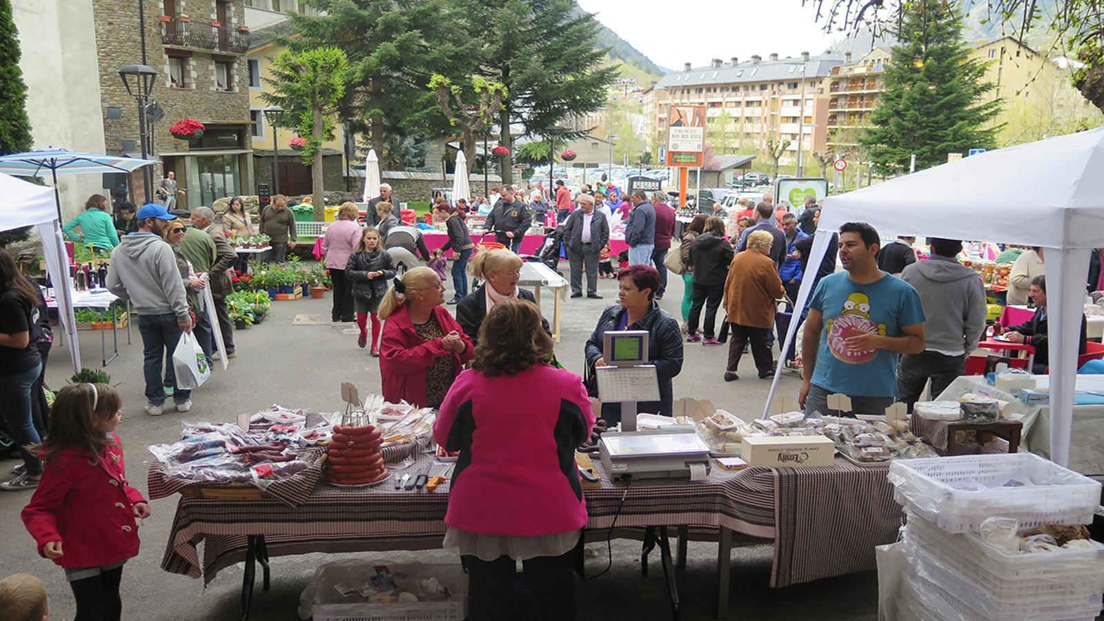 El mercat d'Encamp. /  COMÚ D'ENCAMP
