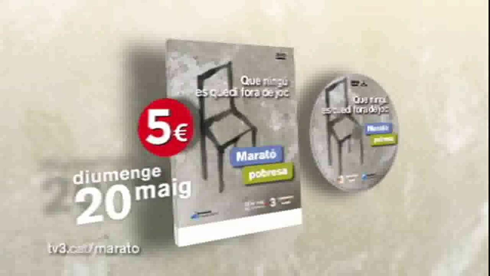 Espot del DVD de 'La marató per la pobresa'