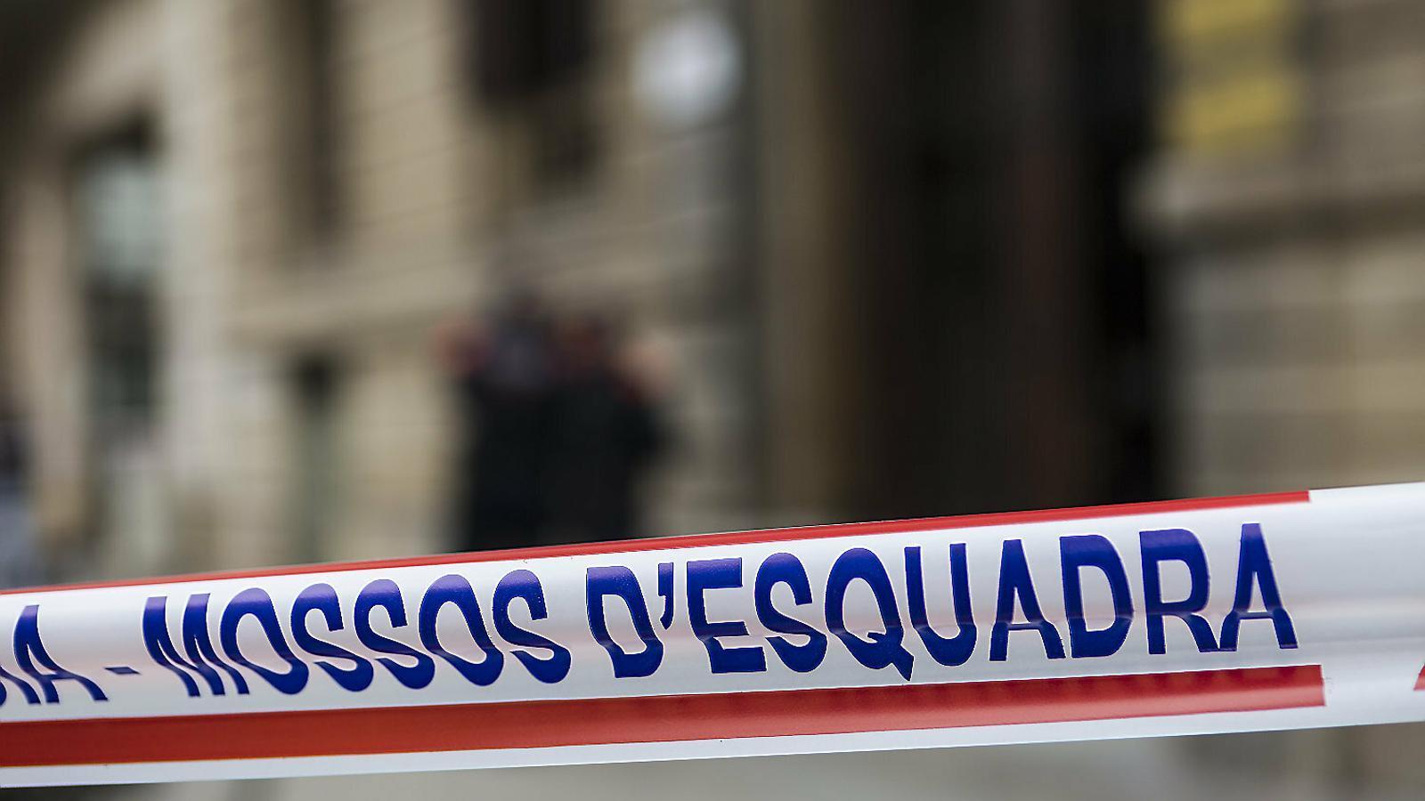 Els Mossos investiguen un crim a Sabadell.