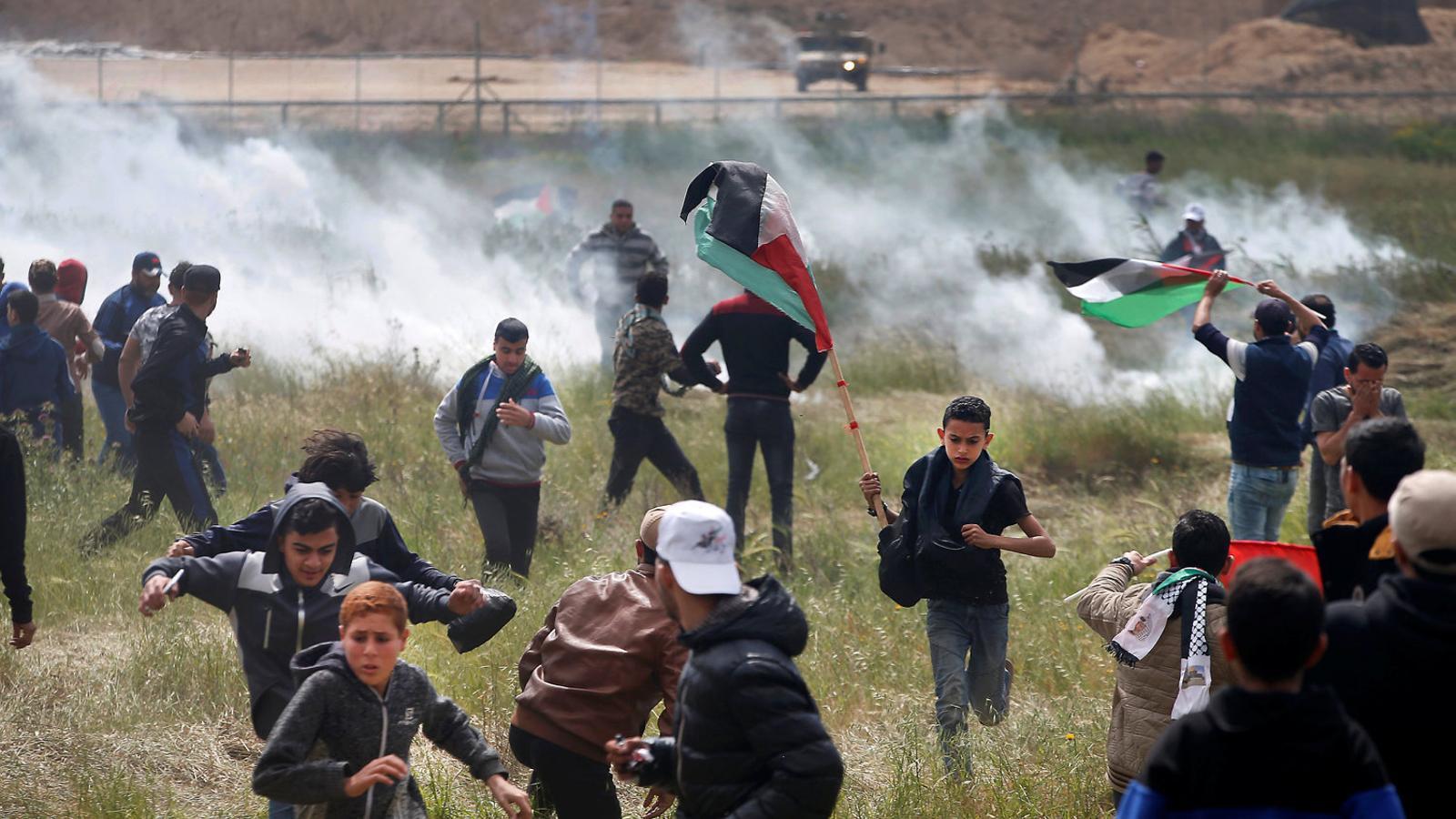 Repressió mortal a la franja de Gaza