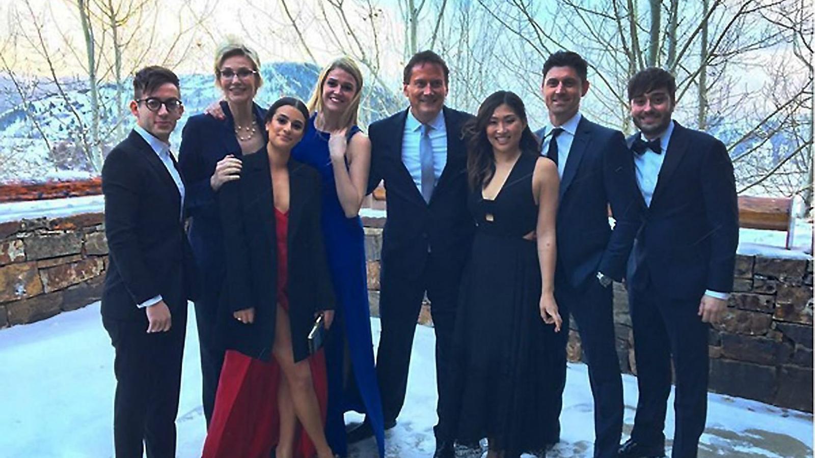 El càsting de 'Glee' es retroba a la boda de Becca Tobin