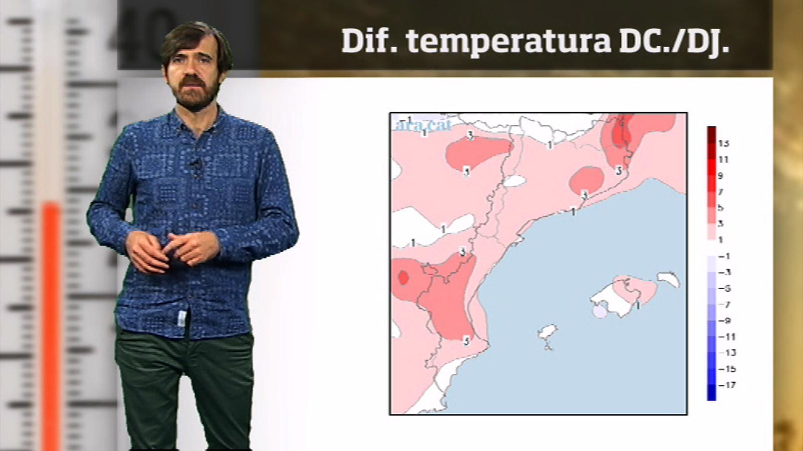 La méteo en 1 minut: calor d'estiu a l'octubre