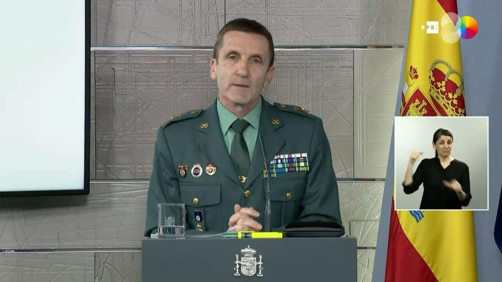 """El comitè tècnic aplaudeix el Guàrdia Civil que va defensar """"la lluita contra el clima contrari al govern"""""""