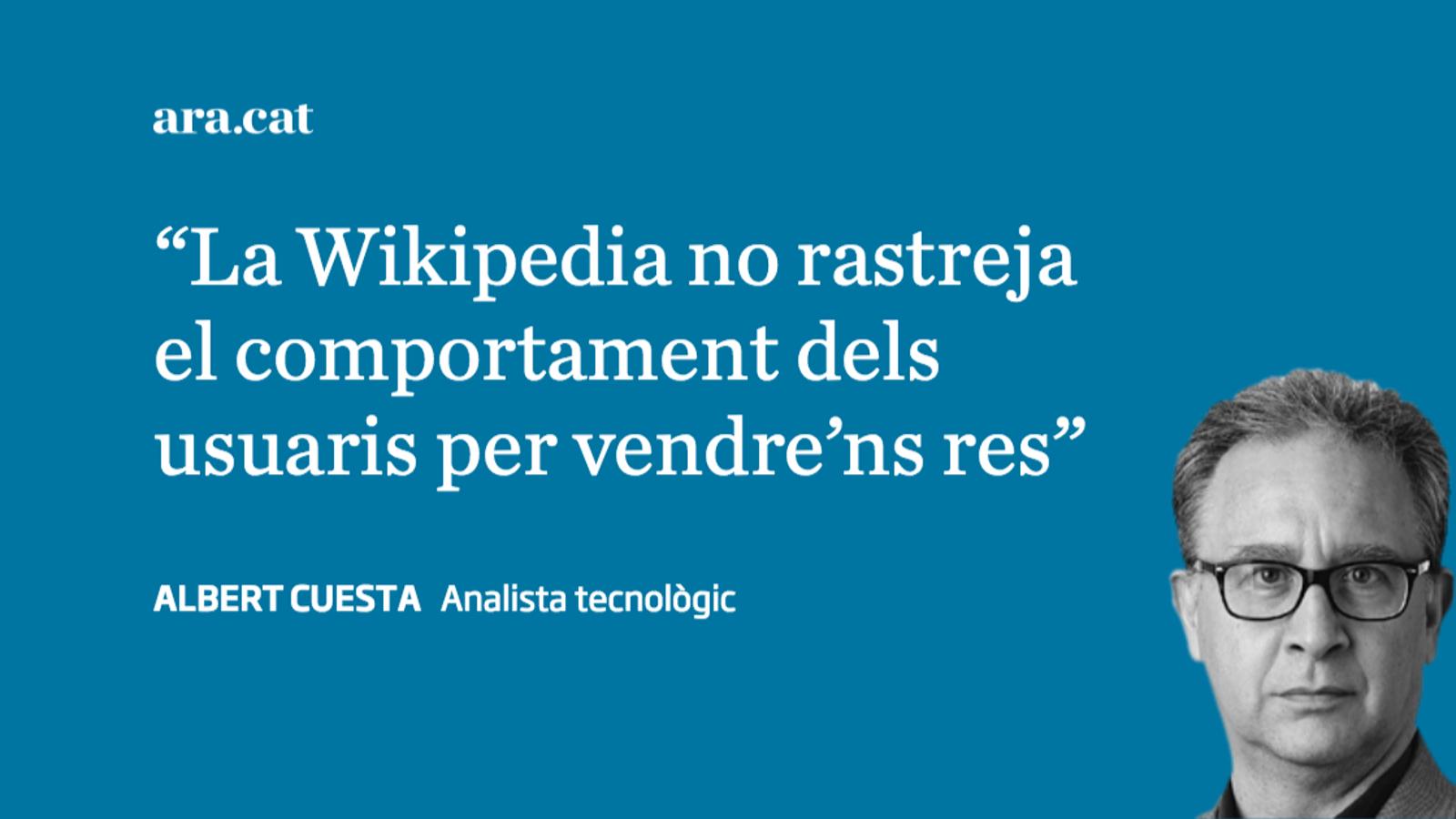 La Wikipedia se'ns ha fet gran