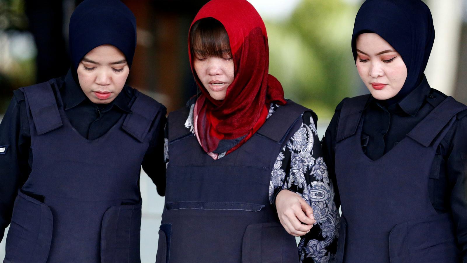 L'acusada de matar el germà de Kim Jong-un, condemnada a poc més de tres anys de presó