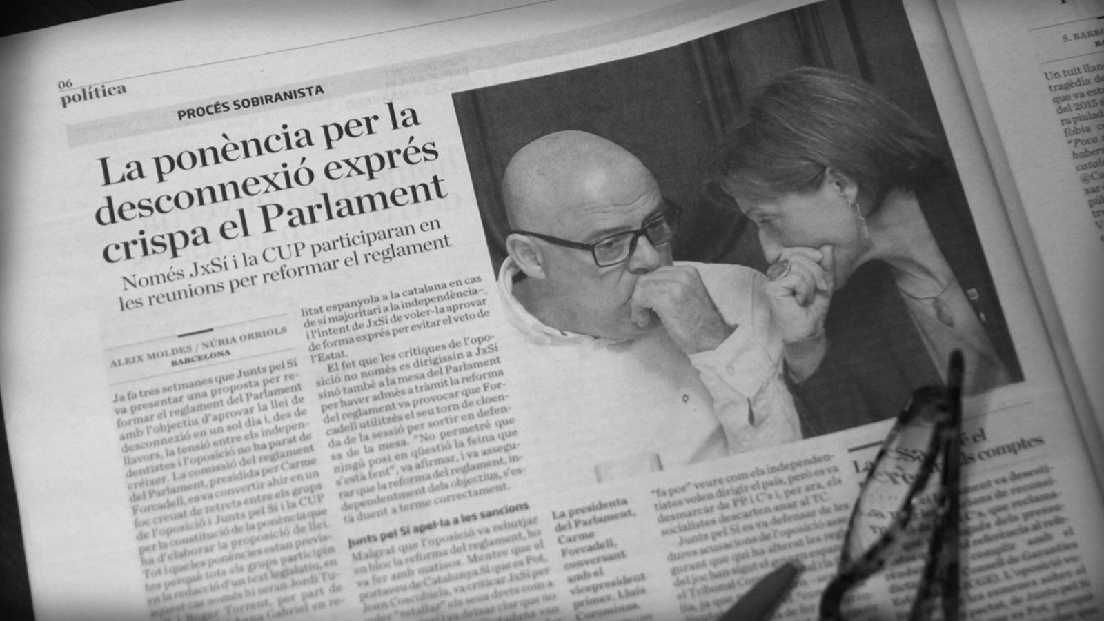 L'anàlisi d'Antoni Bassas: 'En compliment d'un mandat democràtic'