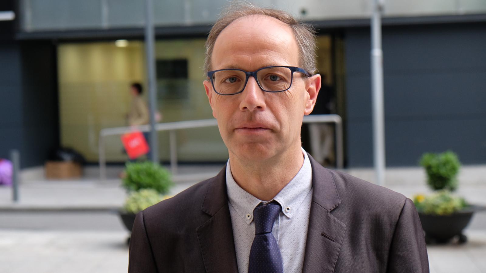 El director de la Càtedra de Pensament Cristià, Francesc Torralba. / M. T. (ANA)