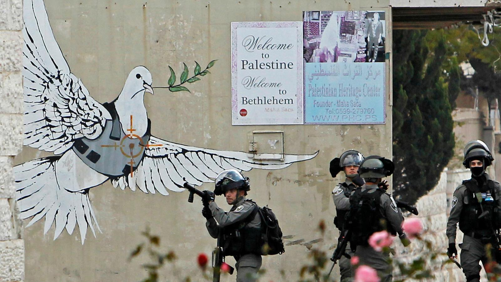 Banksy a Betlem