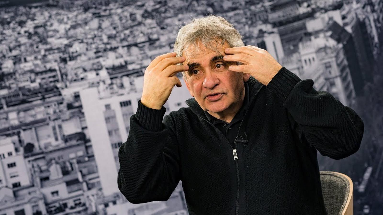 """Bernardo Atxaga: """"Crec que Valverde és un home extremadament bo i intel·ligent"""""""