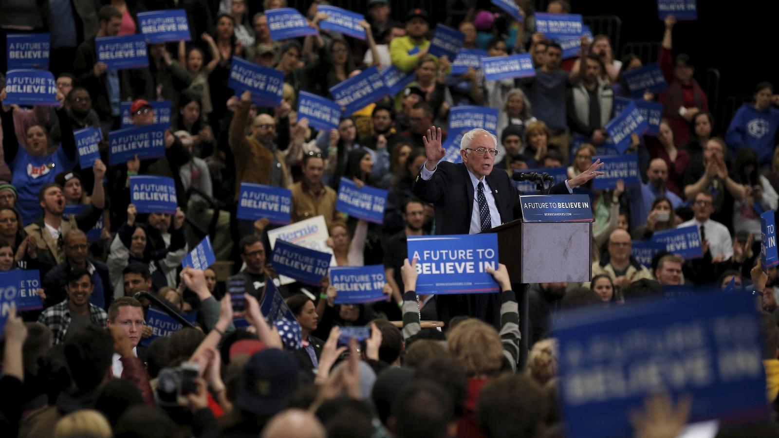 Sanders frena Clinton amb dues victòries a Nebraska i Kansas