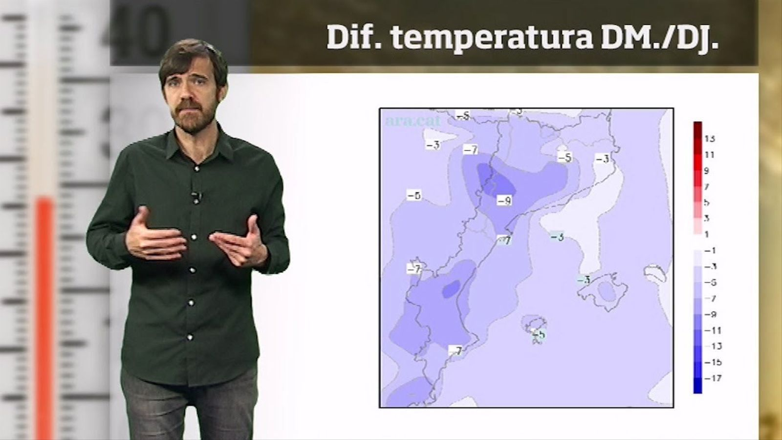 La méteo en 1 minut: neu, xàfecs puntuals i fred de ple hivern