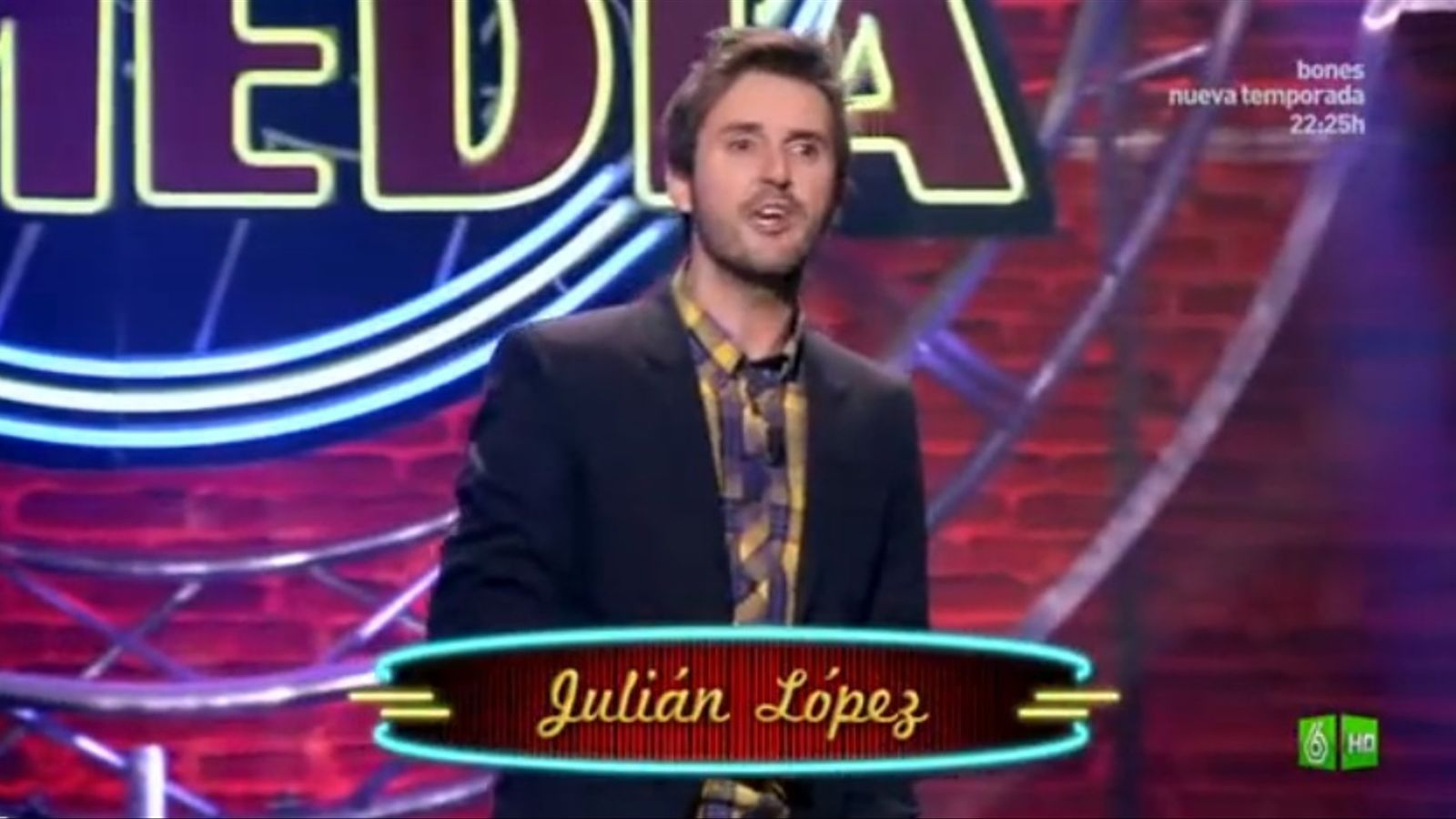 Julián López es burla dels xinesos en un monòleg d''El club de la comedia'