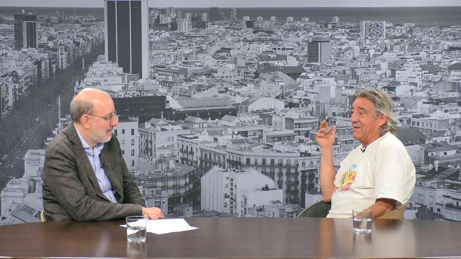 Entrevista d'Antoni Bassas a Tortell Poltrona