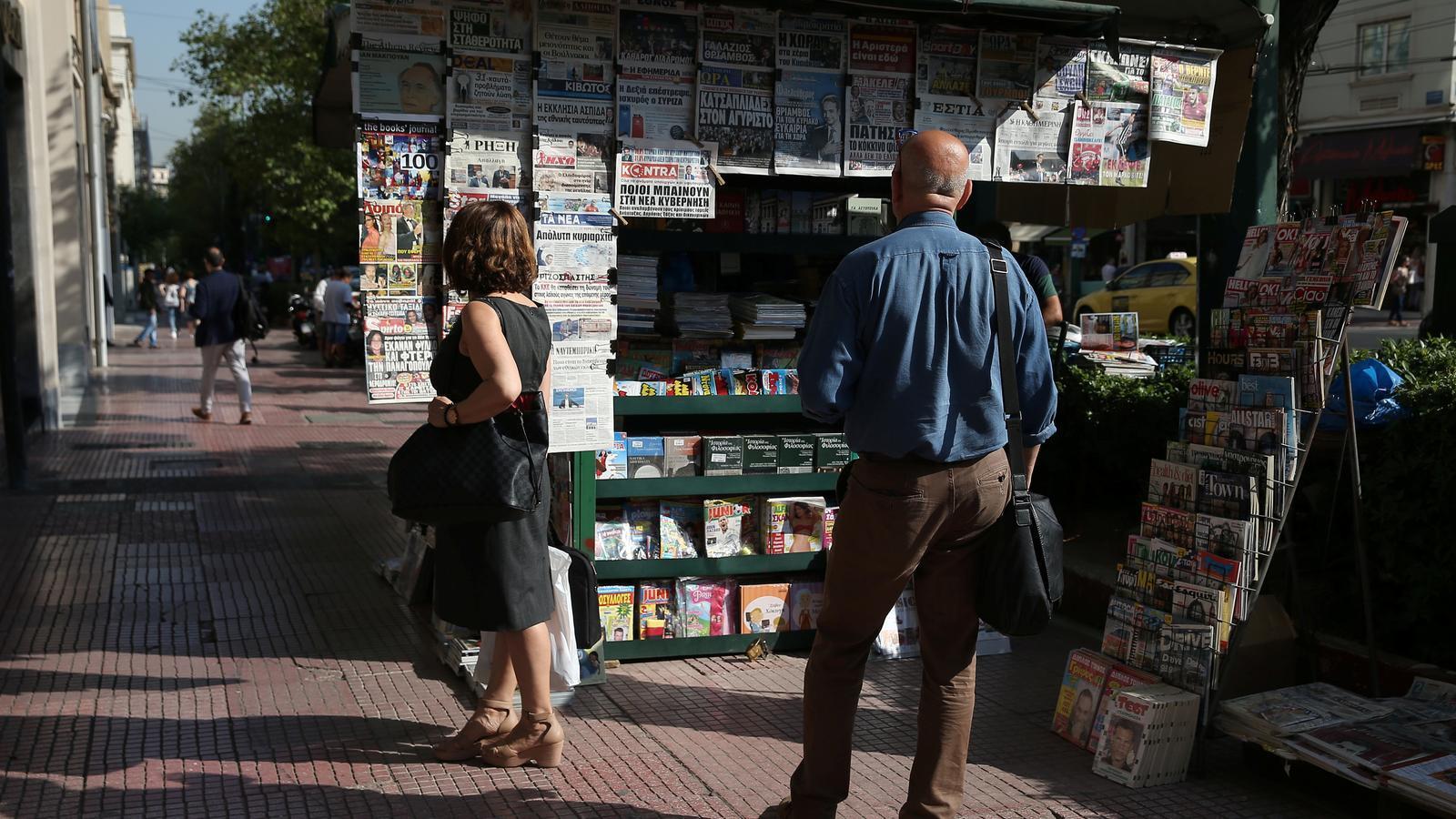 Els grecs es desfan dels diputats neonazis d'Alba Daurada
