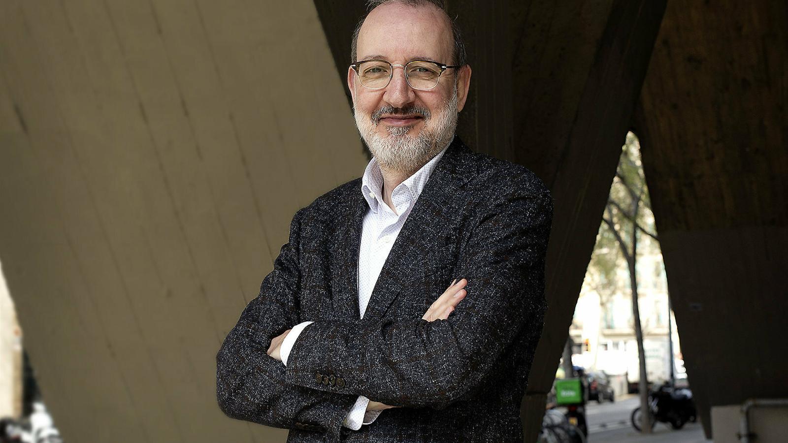 """""""Els mitjans catalans han mantingut un sentit angoixat  De l'equilibri"""""""