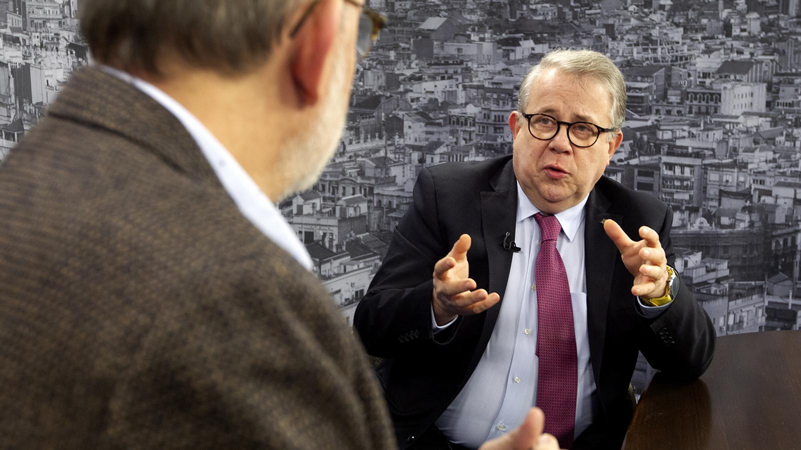 Entrevista d'Antoni Bassas al Dr. Jaume Padrós