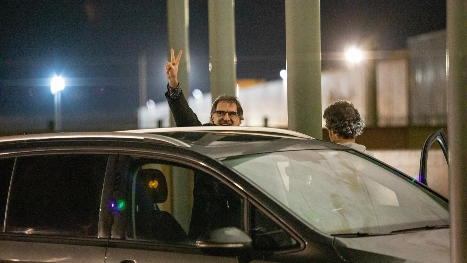 """La Fiscalia s'oposa al segon permís penitenciari de Cuixart per la seva """"absència de penediment"""""""