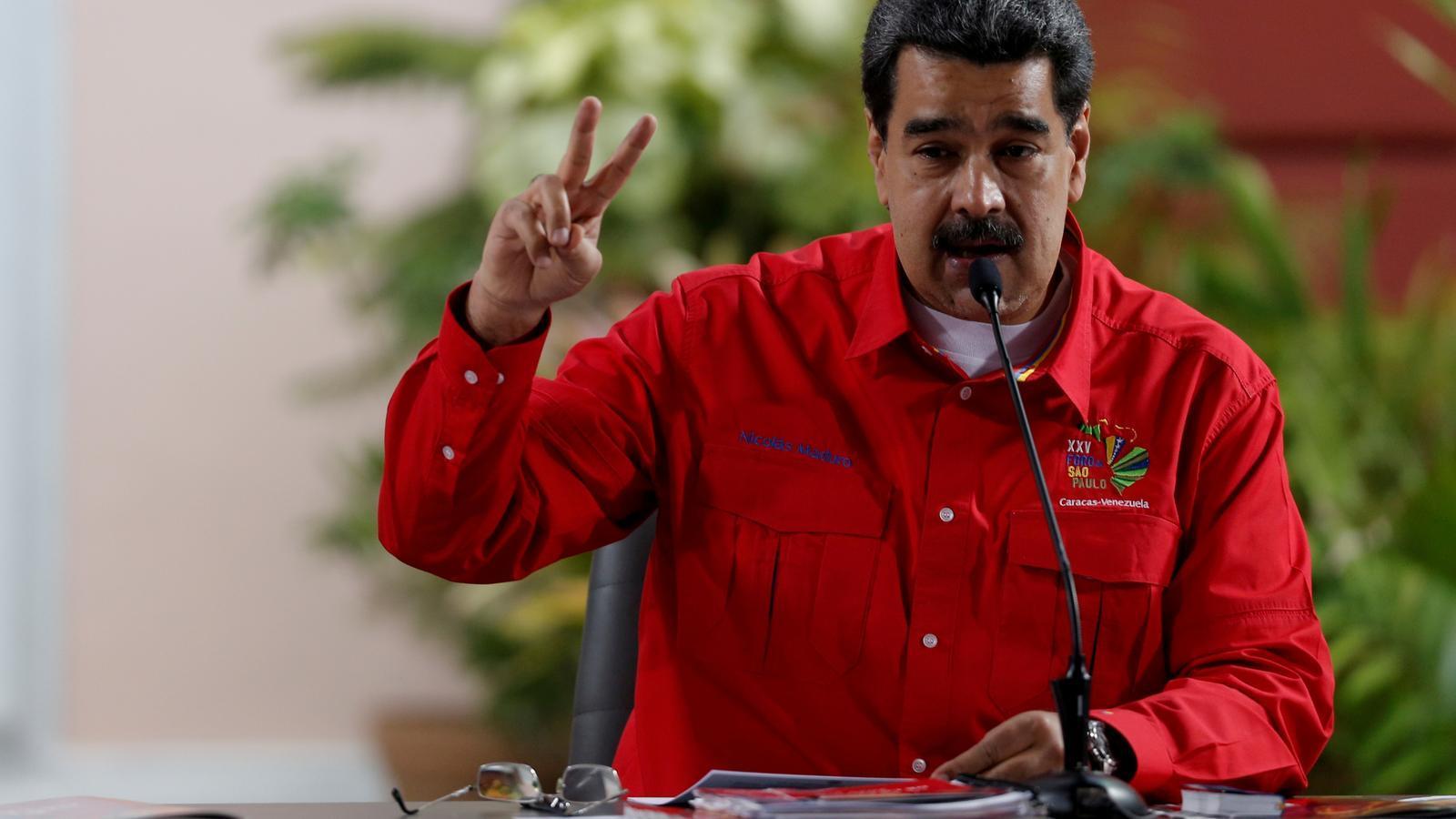 El president veneçolà, Nicolás Maduro, ha confirmat els contactes del seu govern amb la Casa Blanca.