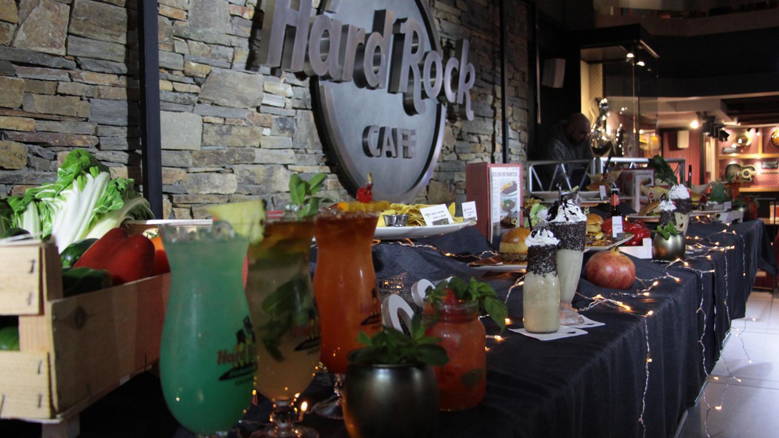 Nous plats al Hard Rock Cafe Andorra. / M. R. F.