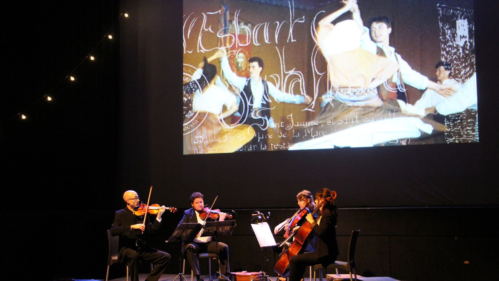 Un moment del concert de l'ONCA 'La més bella pubilla d'Andorra'. / C.G. (ANA)