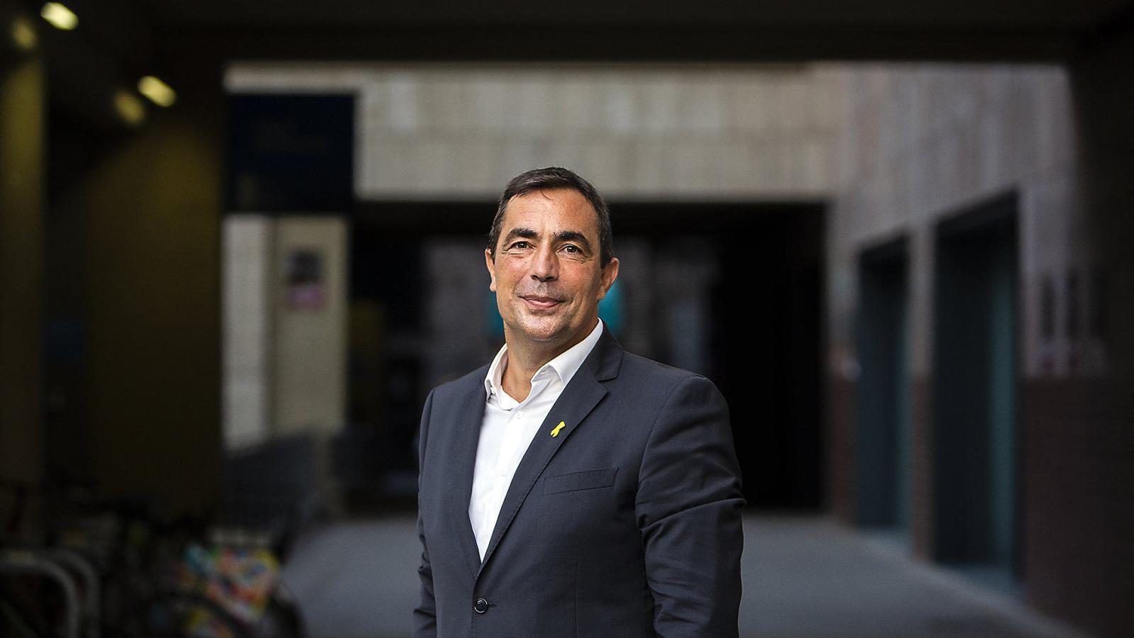 """Pere Soler: """"Els Mossos van complir el mandat judicial sense violència"""""""