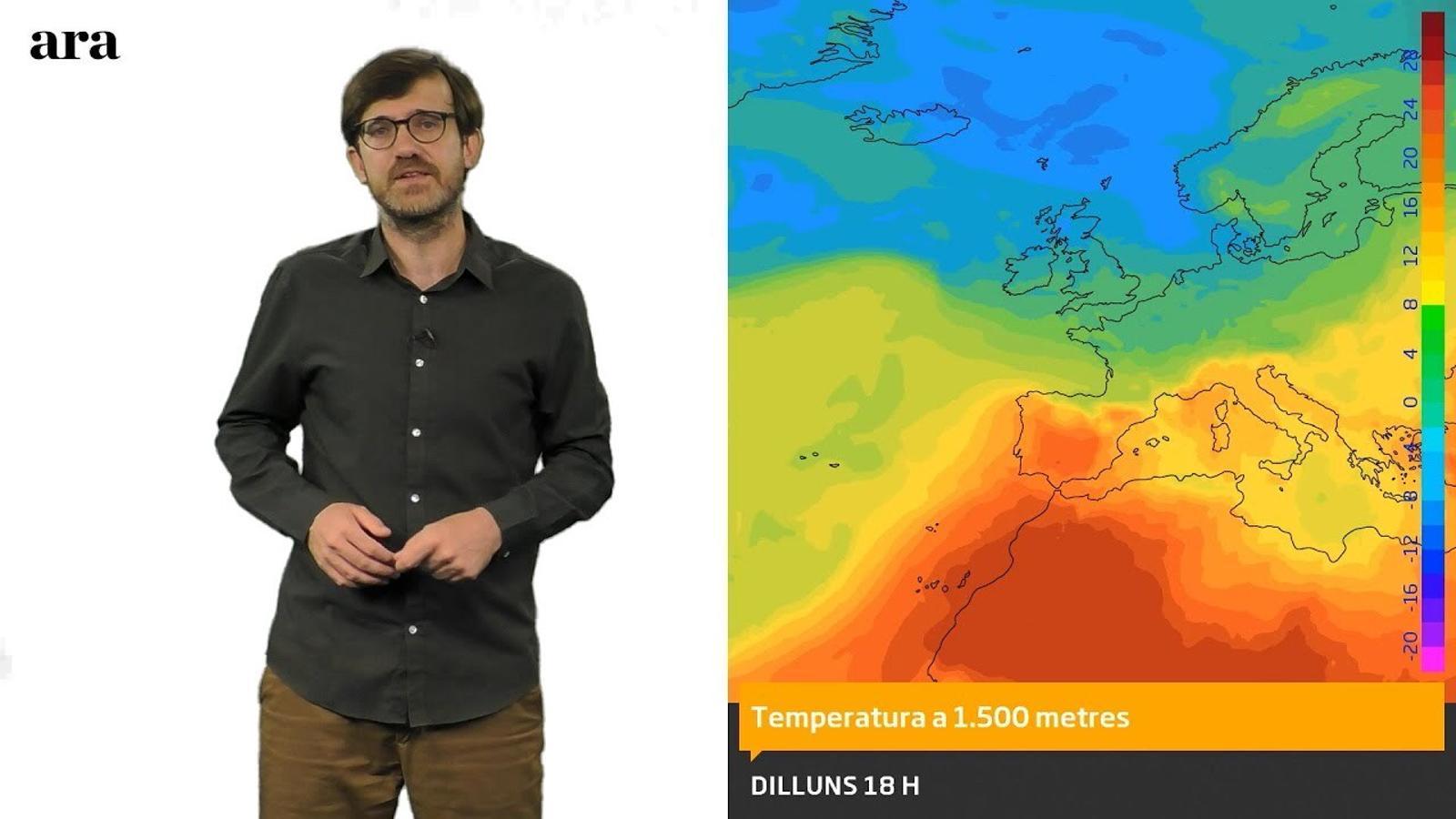 La méteo: nova treva de calor intensa