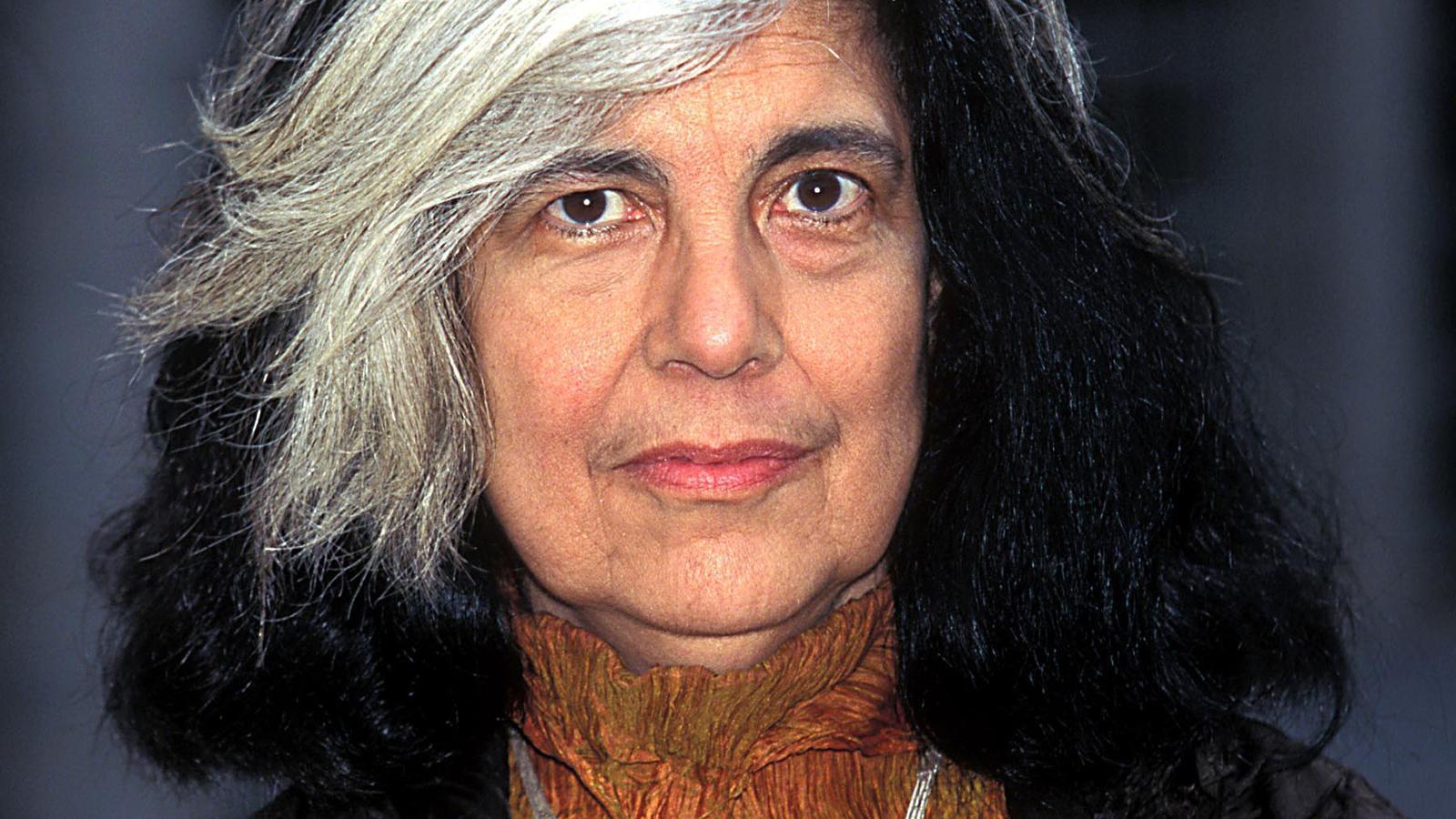 Susan Sontag en unaimatge d'arxiu del 1996